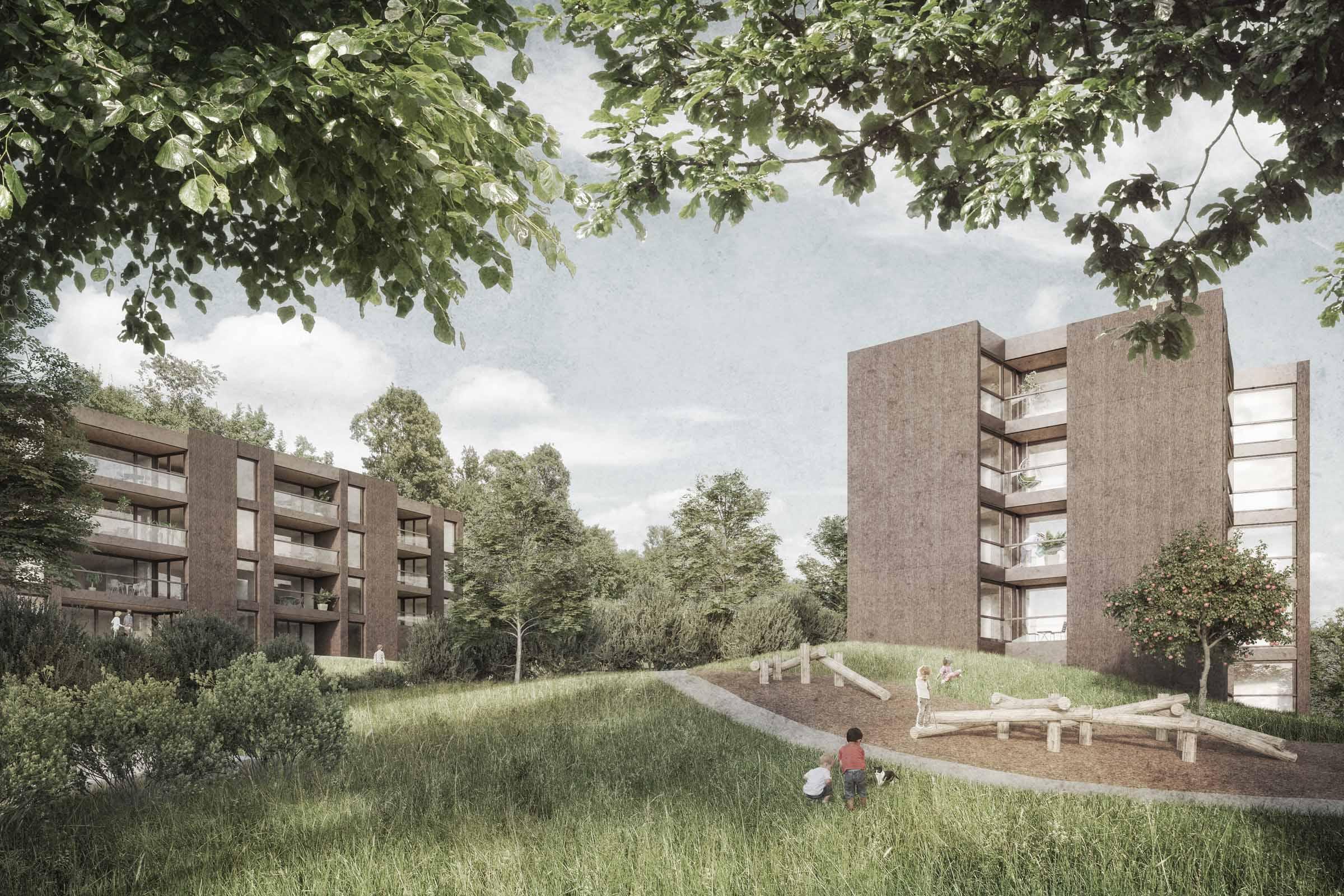 buan-architekten-mehrfamilienhäuser-wygart-sempach-aussenraum