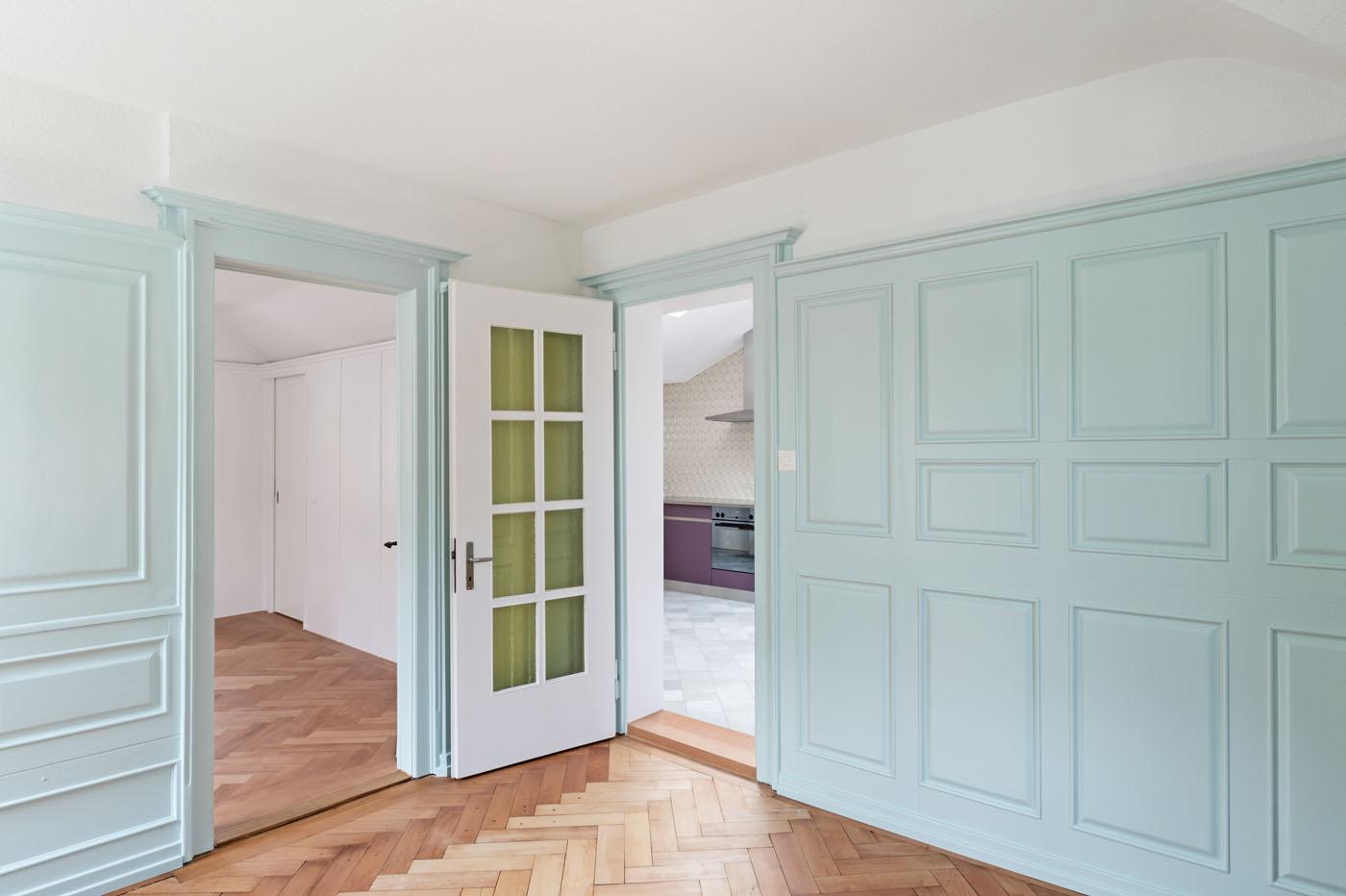 buan architekten – Umbau Bernstrasse Luzern – Innenansicht Wohnen