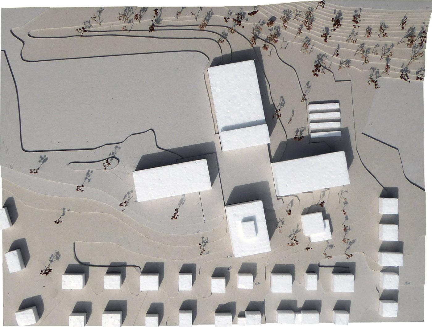 buan architekten – Schulanlage Erlen Emmenbrücke – Modell