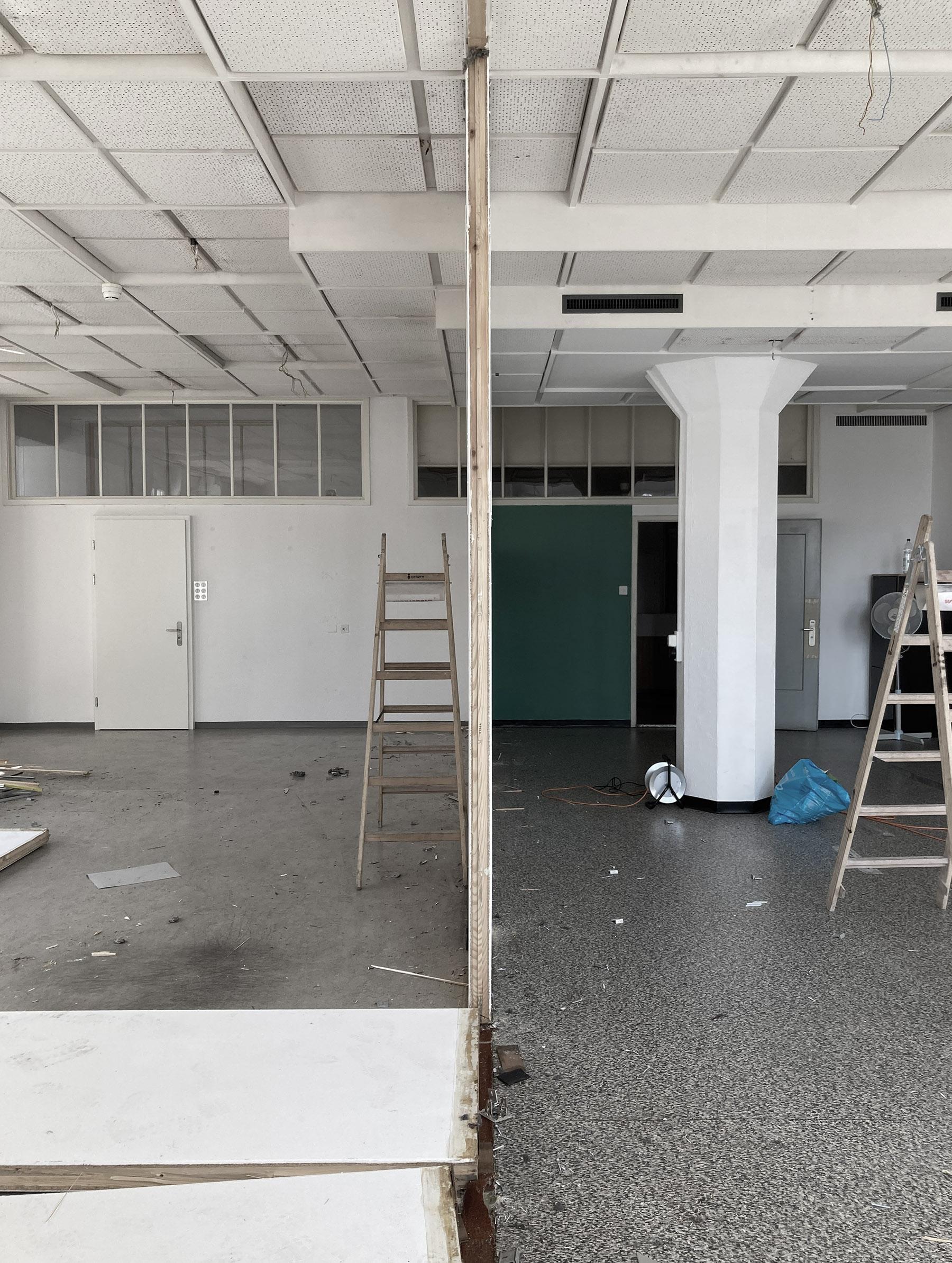buan architekten – Umbau Büro Viscosistadt– Umbauarbeiten