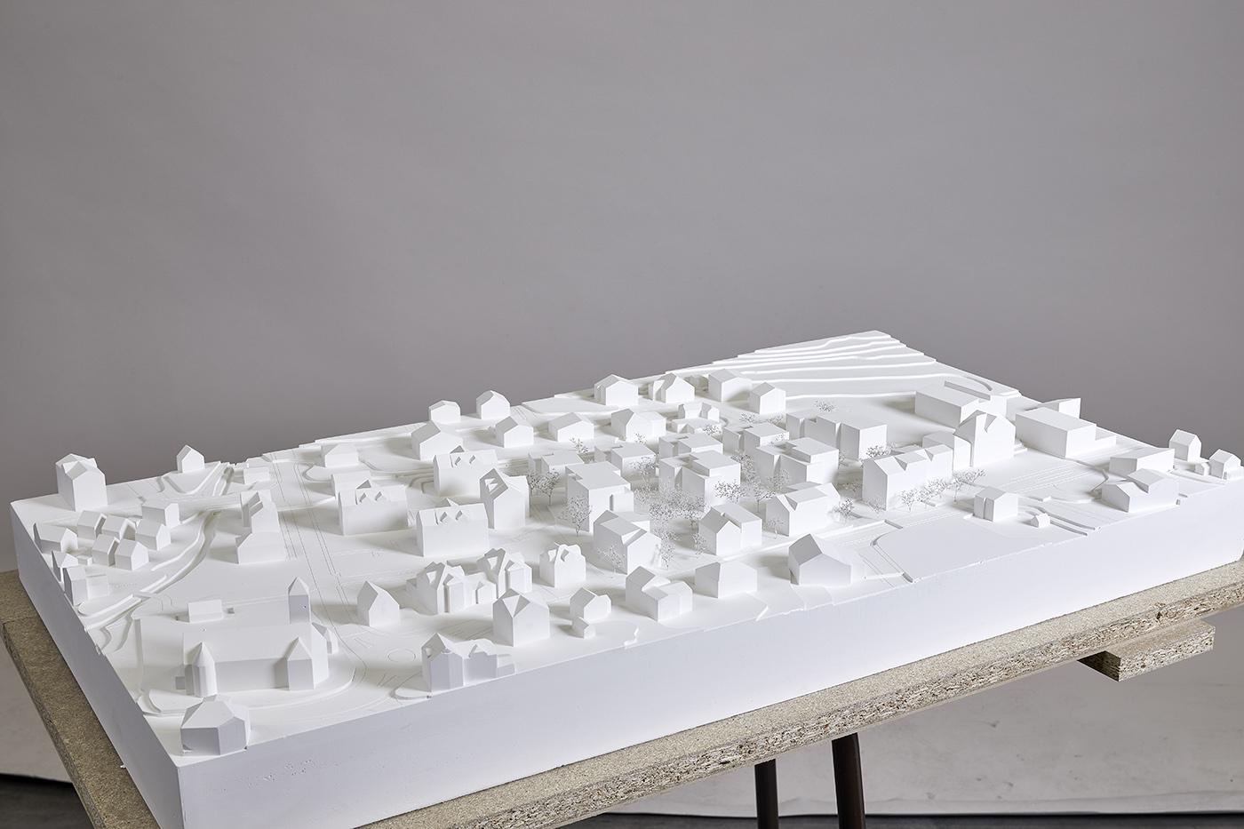 buan architekten – Studienauftrag Areal Schuetzenmatt Inwil – Modell – 4