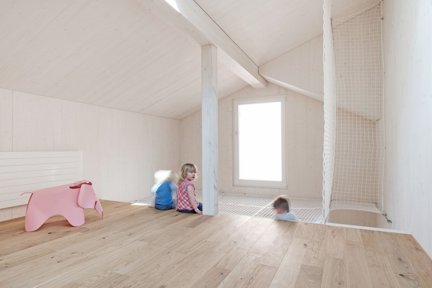 buan architekten – Umbau Bernstrasse Luzern – Innenansicht Kinderzimmer