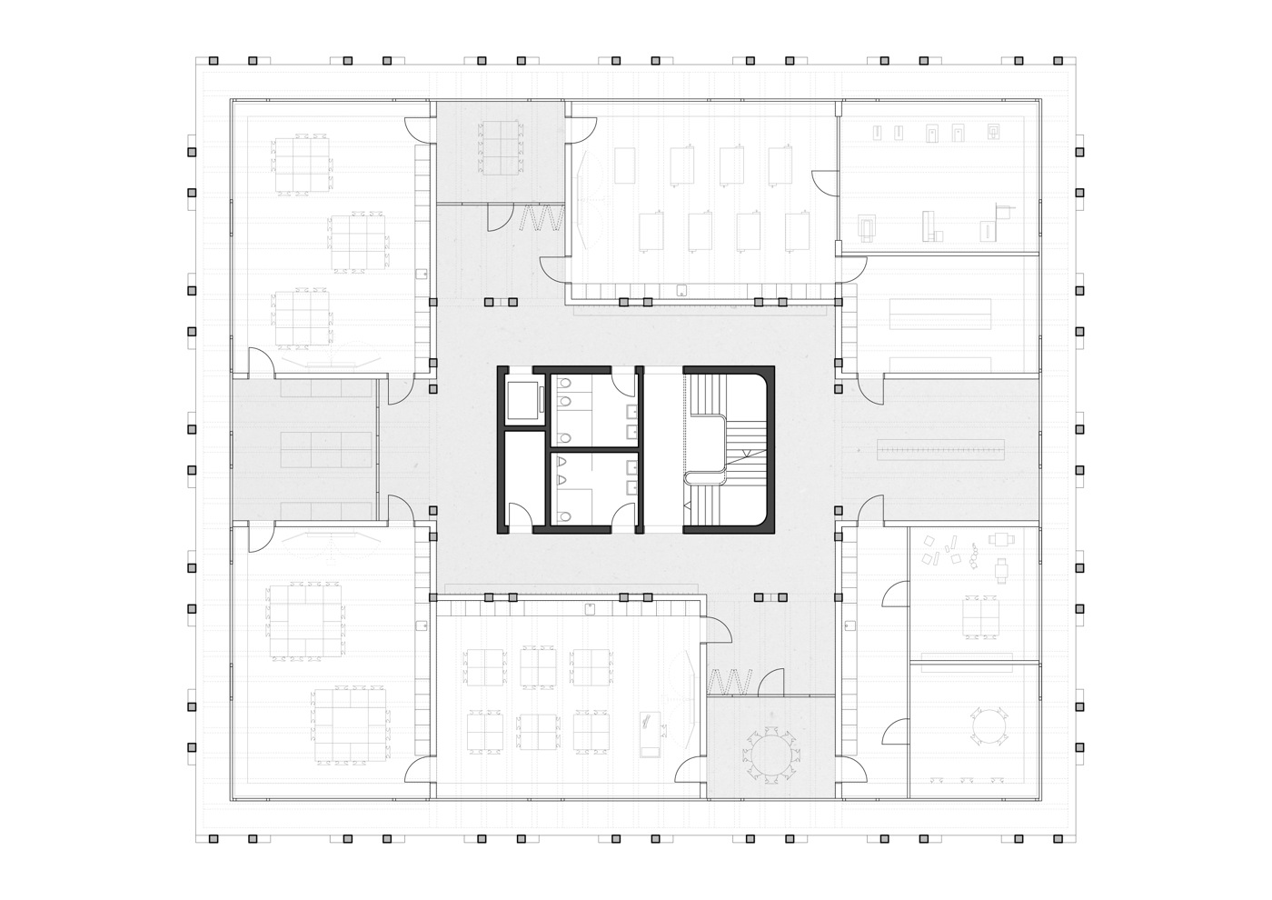 buan-architekten-ersatzneubau schulhaus zentrum-diessenhofen-grundriss-obergeschoss