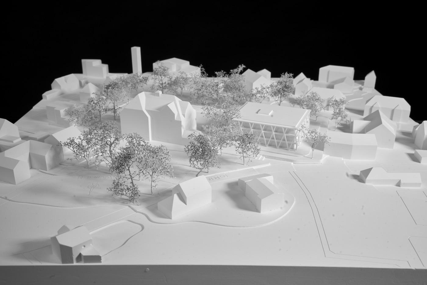 buan-architekten-ersatzneubau schulhaus zentrum-diessenhofen-modell-3