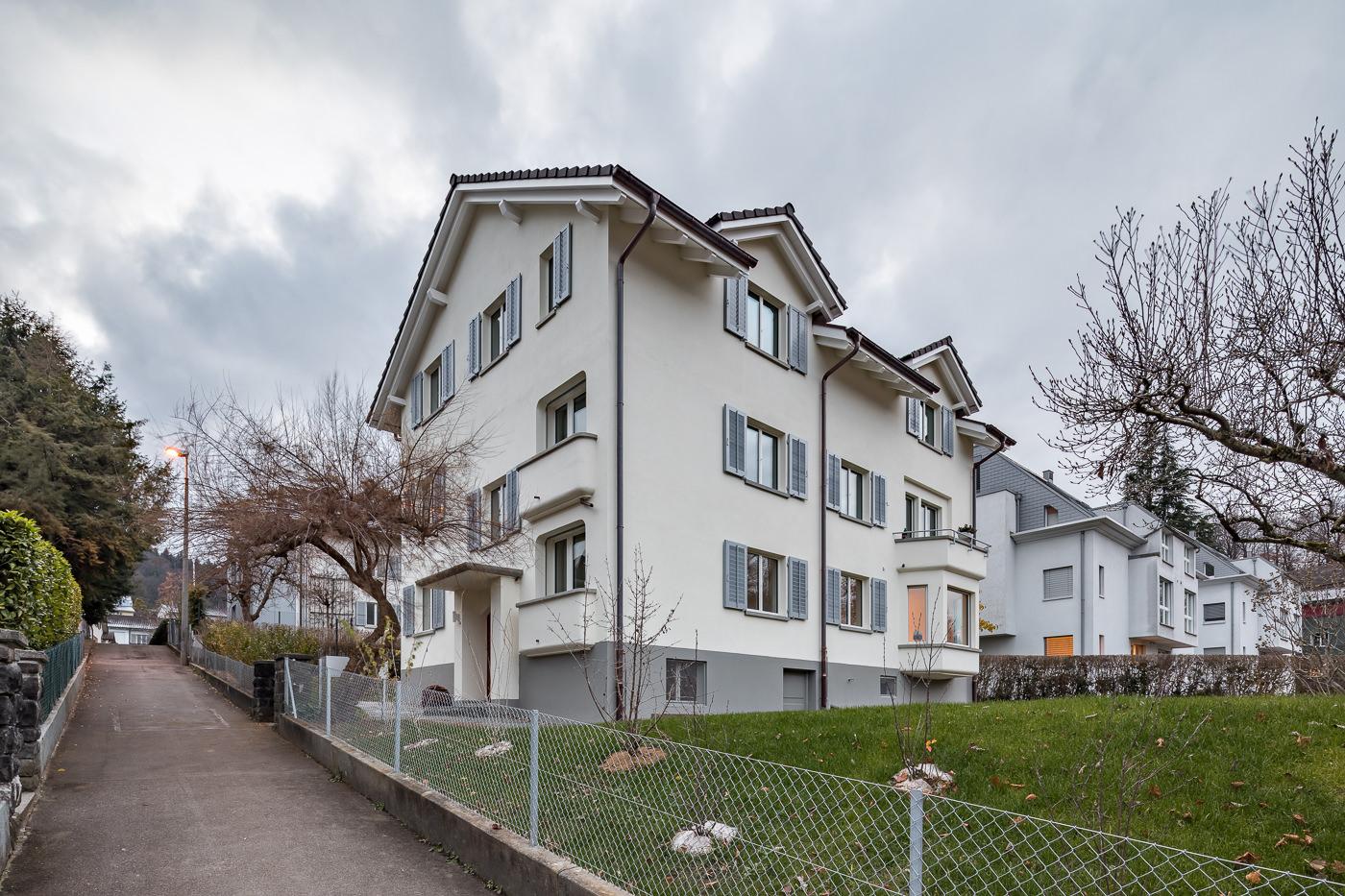 buan architekten – Wohnhaus Langensandstrasse Luzern – Aussen – 1