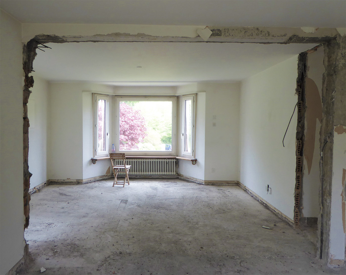 buan architekten – Wohnhaus Langensandstrasse Luzern – Bestand – Innenraum