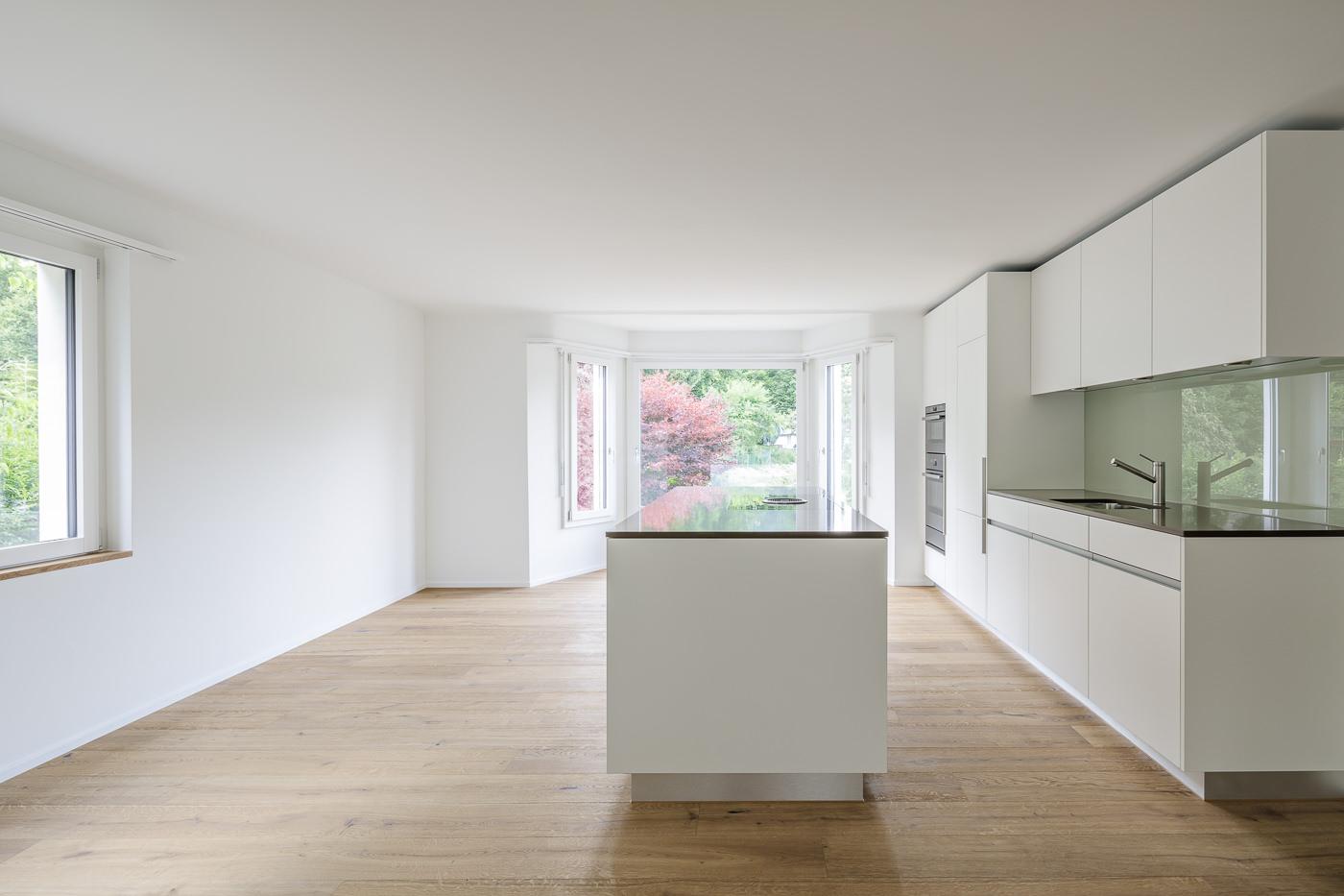 buan architekten – Wohnhaus Langensandstrasse Luzern – Küche