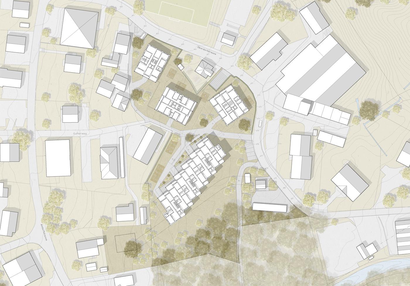 buan-architekten-oberdorf-vitznau-situation-grundrisse
