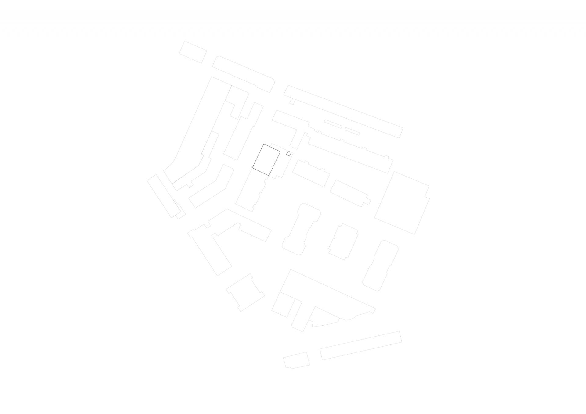 buan-architekten-umbau bueroraeume unterlachenstrasse-situation