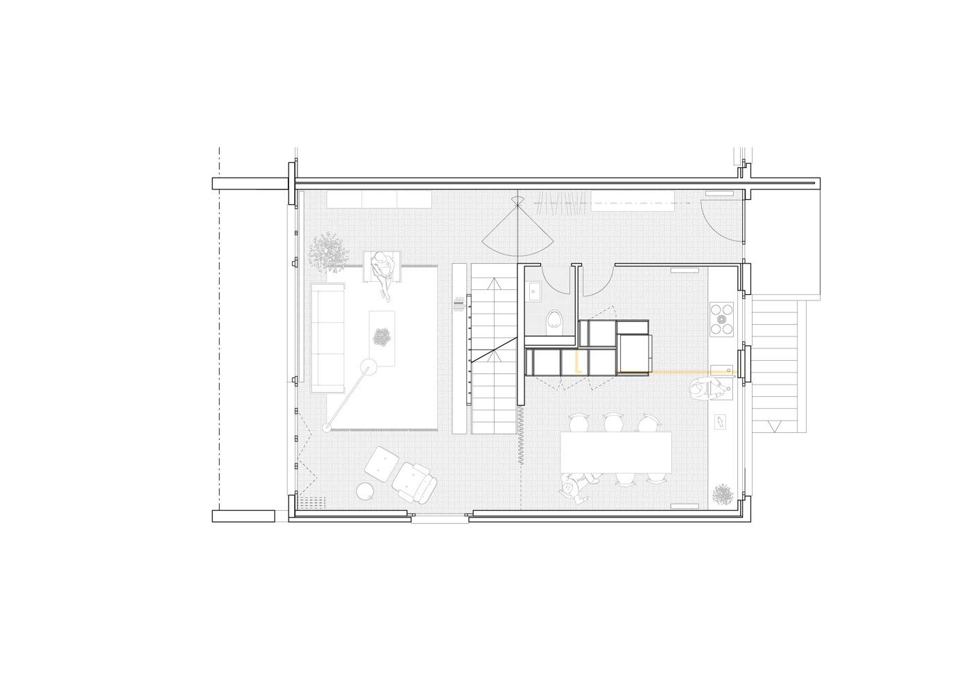 buan-architekten-umbau waldstrasse-luzern-erdgeschoss