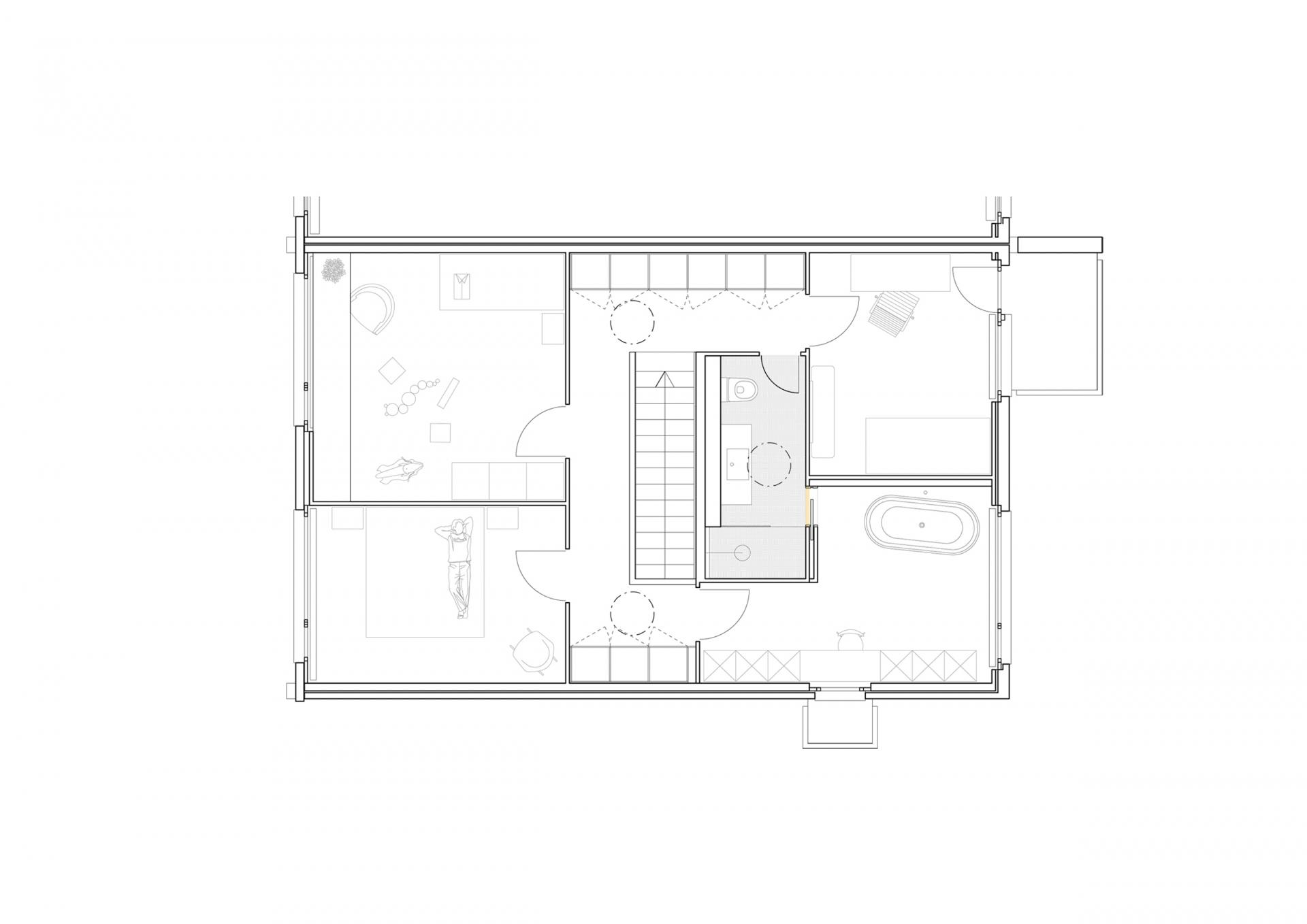 buan-architekten-umbau waldstrasse-luzern-obergeschoss