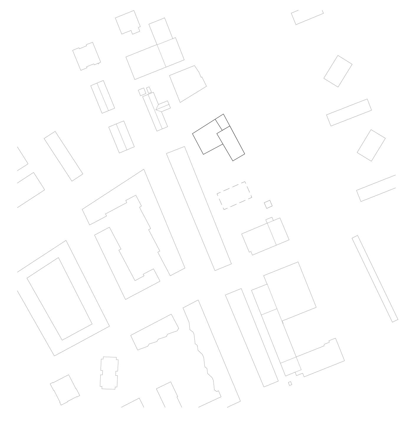 buan architekten – Studienauftrag Wohnheim Lindenfeld Emmen – Situation